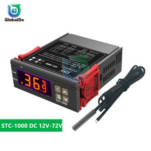 STC-1000 DC 12V-72V LCD Temperature Controller Regulator Digital Thermostat Thermometer Sensor Switch Control Tool стоимость
