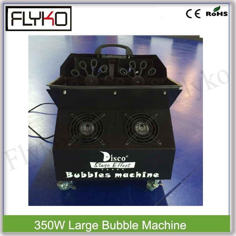 Wireless remote bubble machine 500M2 area coverage large-sized hubble-bubble machine 350W with high blast volumeWireless remote bubble machine 500M2 area coverage large-sized hubble-bubble machine 350W with high blast volume