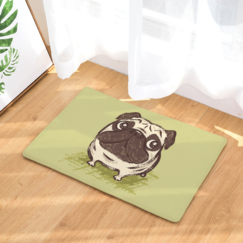 CAMMITEVER Cute Cartoon Dog Animal Carpet Bedroom Mat Area Rugs Warm Artificial Textile Factory Supply Directly Kids Room Decor