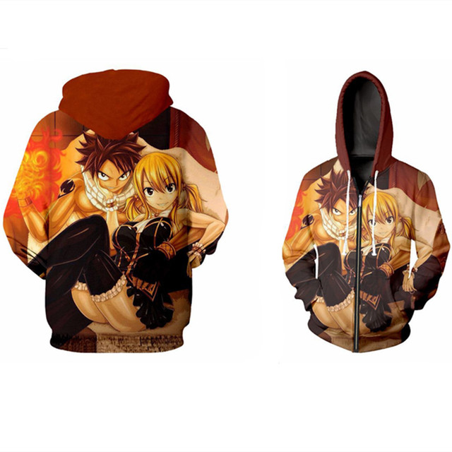 Latest FAIRY TAIL Trendy Hoodie