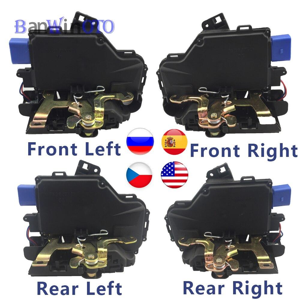 Door Lock Latch Actuator Central Mechanism Motor For VW Touran Caddy Jetta Golf5 Seat Toledo Skoda Octavia 3D1837015 3D1837016A