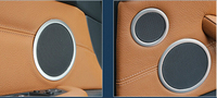 Speaker Audio Ring Decoration Trim 6pcs For BMW 5GT F07 2010 2015