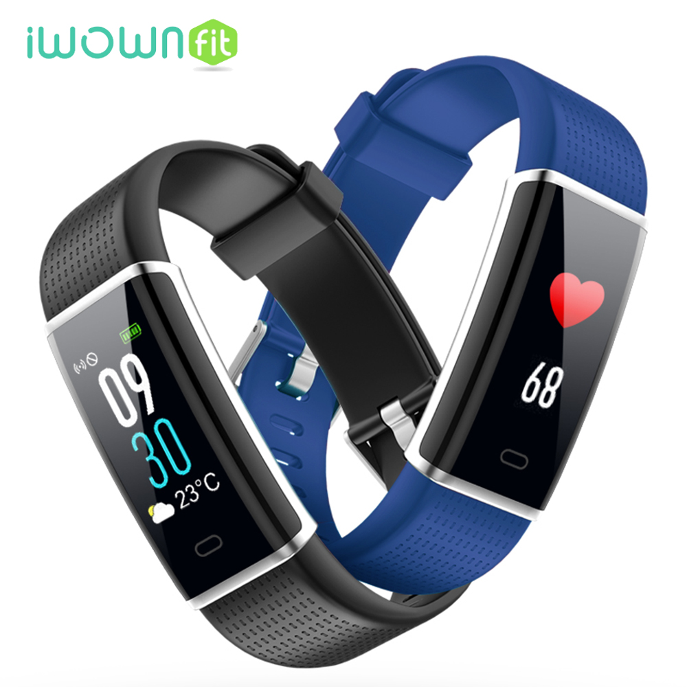 2018 Hot Smart Watch Fitness Bracelet Heart Rate Monitor IP67 Waterproof Pedometer Color ...