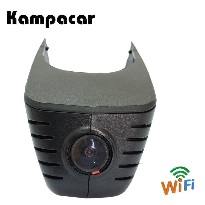Kampacar Car DVR Dash Cam Recorder For Audi A1 A3 A4L A5 Sportback A6L A6 C7 A7 4G A8 Q3 Q5 TDI Q7 4M After 2011 With Black Roof