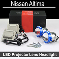 No Error Hi Low LED Projector lens headlight Assembly For Nissan Altima with halogen headlamp ONLY Retrofit Upgrade (2006-2015)