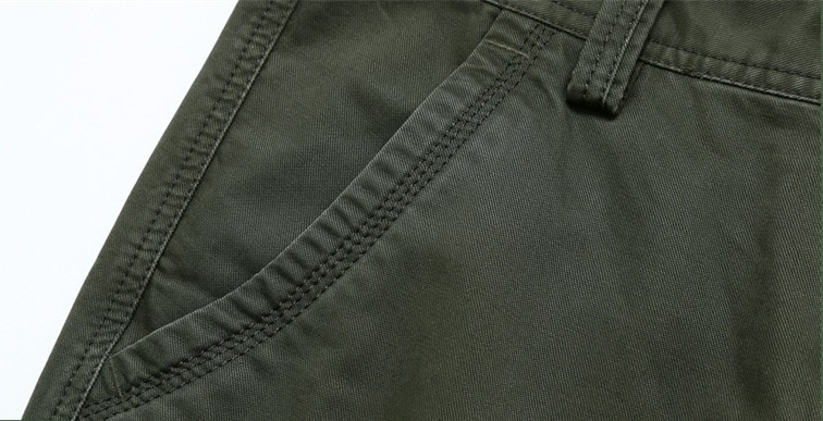 ICPANS Cargo Pants Mens Cotton Military Multi-pockets Baggy Men Pants Casual Trousers Overalls Army Pants Joggers Size42