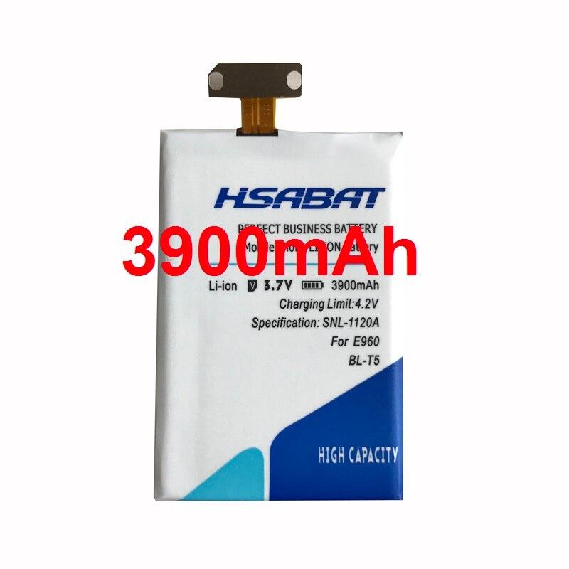 imágenes para HSABAT 3900 mAh BL-T5 Batería de Repuesto Para LG Nexus 4 Batería Google4 E975 E973 E970 E960 F180 Para LG BL-T5 Google Nexus 4
