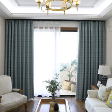 ФОТО 85% shading blackout curtain fashion printing curtain for living room or bedroom