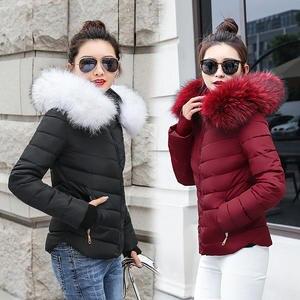 ef9d19dea9a SIJIMZ winter jackets women 2018 female coat Hooded parkas