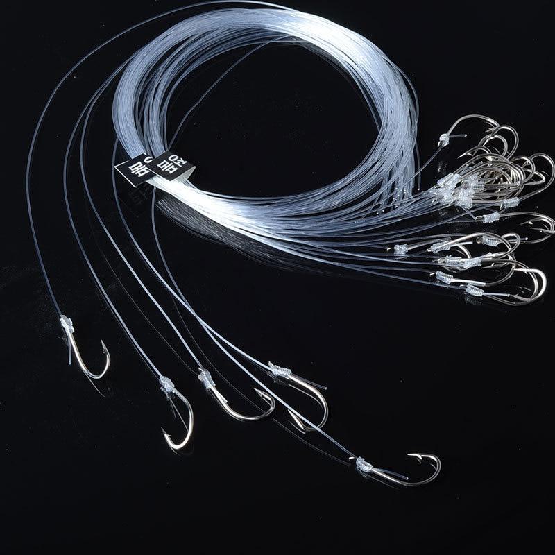 140pcs And 100M Fishing Line Size #7~#16 High Carbon Steel Carp Fishing Hooks Portable Fishing Portfolio Nylon Thread