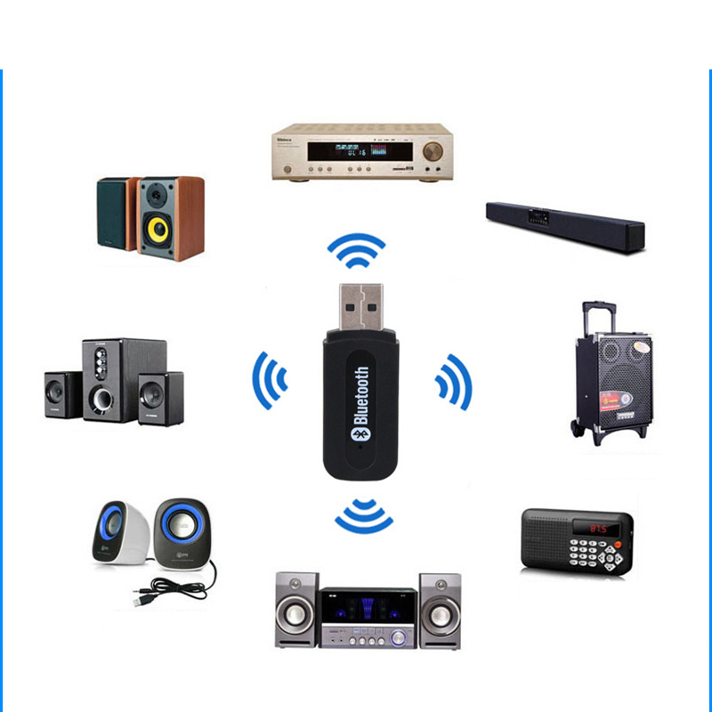 3.5mm Bluetooth Audio Wireless Bluetooth Music Receiver Adapter Bluetooth 2.0 2.4(Mbps) USB Receiver цена