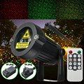 Céu Estrelado Vermelho e verde Projetor Laser lâmpada Luz Do Estágio LEVOU Festival Luz Da Paisagem Do Jardim Da Lâmpada À Prova D' Água 110-265 V