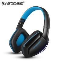 KOTION EACH B3506 Foldable Auriculares Wireless Fone De Ouvido Bluetooth Headphones Gaming Headset Gamer Microphone Kulaklik