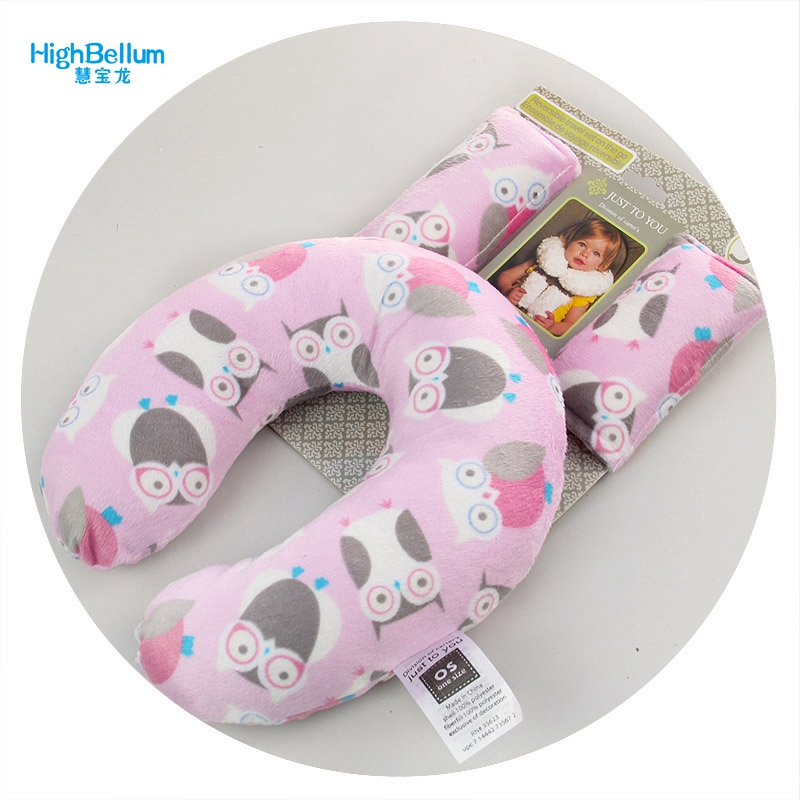 U-shaped Baby Neck Pillow Memory Foam U Shape Car Baby Pillow Neck Head Support Office Cushion Comfortable Travel Pillow