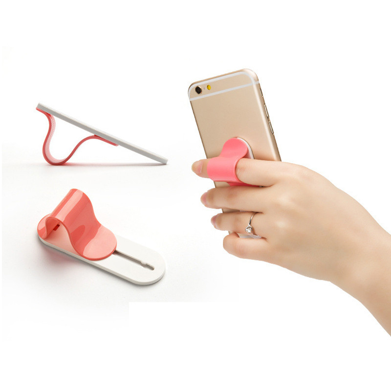 1pc Multi Band Finger Ring Mobile Phone Smartphone Stand Holder For iPhone Samsung HTC Sony LG Xiaomi Smartphone VIA95 P50