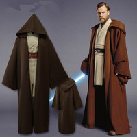 High Quality Star Wars Anakin Skywalker Darth Vader Cloak Cloak Cosplay Suit Free Shipping