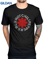 GILDAN 2017 New 100 Cotton Top Quality Awdip Men S Official Red Hot Chilli Peppers T