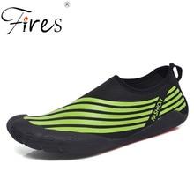 Fires Men Sport Shoes Outdoor Lightweight Walking Sneakers Cómodo de gran tamaño 39-46 Hombre Aqua Shoes Soft Cool Man Sneaker