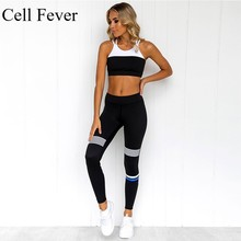 цены Workout Clothes For Women 2 Piece Yoga Set Seamless Sports Bra Leggings Tracksuit Running Gym Fitness Clothing Sports Suit