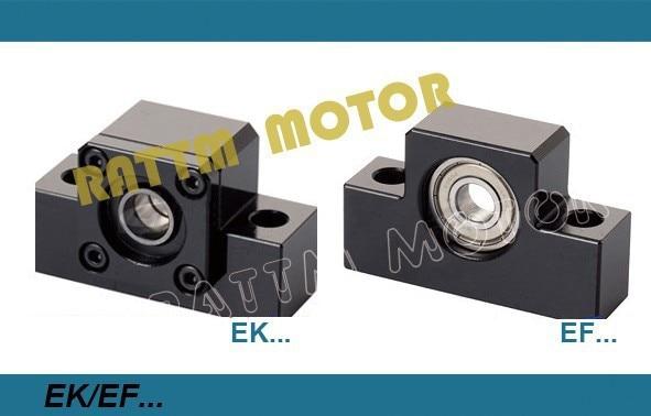 1set EK12+ EF12 Support for Ball screw SFU1610,1605 end supports for CNC XYZ parts1set EK12+ EF12 Support for Ball screw SFU1610,1605 end supports for CNC XYZ parts