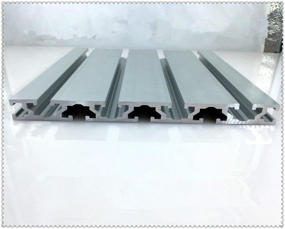 15180 aluminium-strangpressprofil wandstärke 2,2mm nut breite 8mm länge 300mm industriellen aluminiumprofil werkbank 1 stücke