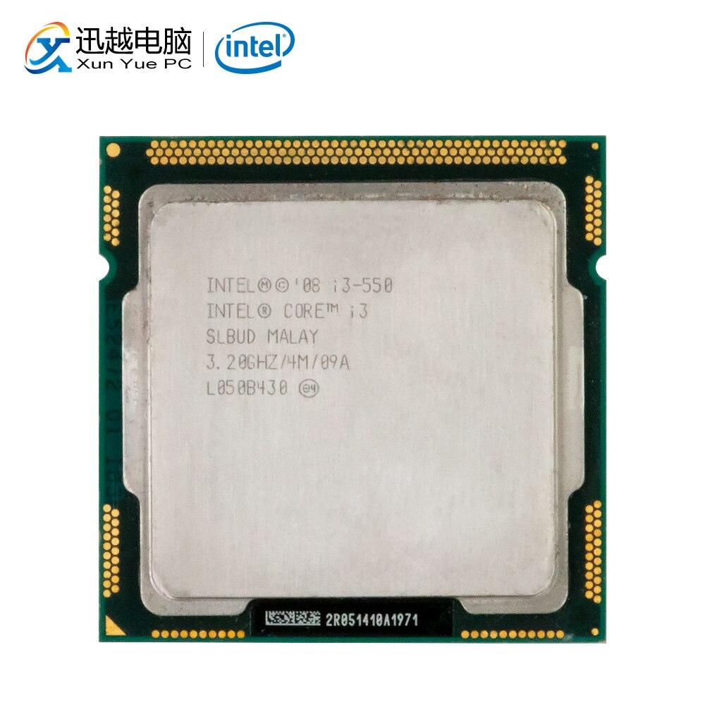 Intel Core I3 550 Desktop Processor I3-550 Dual-Core 3.2GHz 4MB Cache LGA 1156 Used CPU