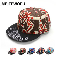 купить MEITEWOFU spring summer fashion Leisure Sports baseball cap printing Hip Hop caps snapback hat For Men Women Couples Bone hats дешево