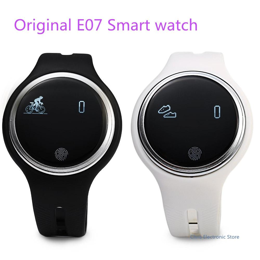 imágenes para Mesuvida E07 Reloj Inteligente Bluetooth 4.0 Contestador Teléfono Podómetro Sleep Monitor de Captura Remota IP67 A Prueba de agua Deporte Smartwatch