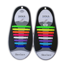 2018 New T-type Shoelace Unisex Adult Athletic Running No Tie Shoelaces Silicone Shoe Lace Suitable For All Sneakers 16pcs/set