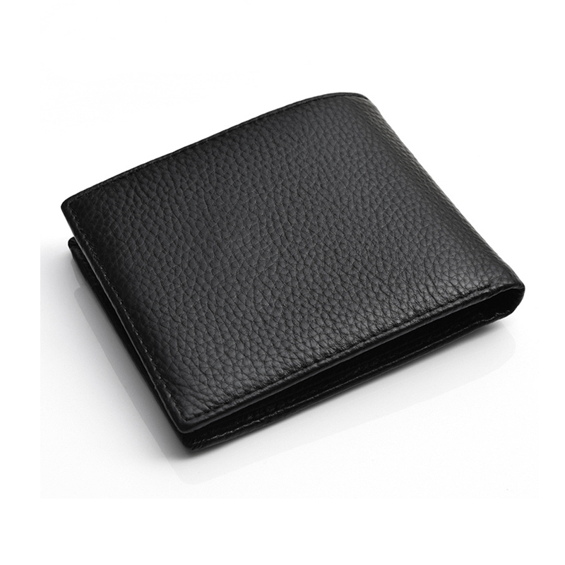 Men Wallet Genuine Leather Male Purse Business Card Holder Luxury Wallet Thin New High Quality Money Bag small Handy Coin Purses