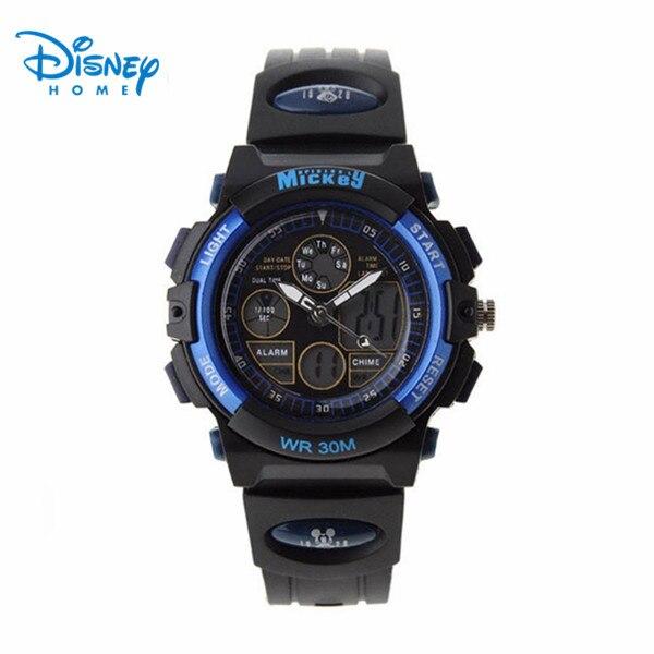 Disney Brand Sports Watches kids Multifunction Digital Watch Waterproof Outdoor Casual Wristwatches Relogio Masculino LP-PS021-1