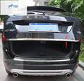 For VOLVO XC60 2014 2015 Stainless Steel Rear Tailgate Trunk Lid Cover Trim 1 Pcs