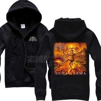 5 Customize designs chandal hombre Impaled Nazarene band 3D Horrible Rock Hoodies demon goat sudadera punk death dark metal