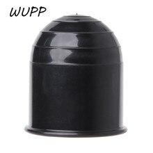 Uniwersalny 50MM Auto zaczep kulowy haka holowniczego czapka zaczepu przyczepa kempingowa Towball Protect