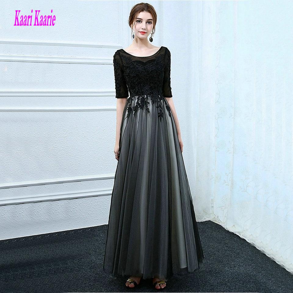 Sexy Black Prom Dresses Long 2019 Prom Dress Plus Size ...