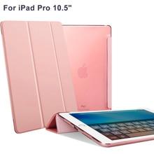 Para iPad Caso Pro 10.5, Cubierta Elegante para el Nuevo iPad de Apple Pro 10.5 Pulgadas Modelo 2017 con Auto Sleep/Wake Cuero de LA PU Shell