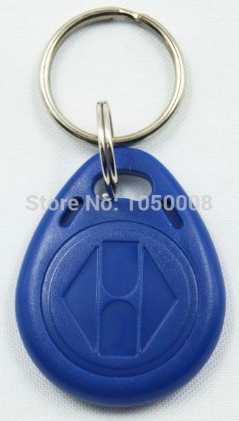 200pcs/lot 125Khz RFID Tag Proximity ID Card Key Tag Keyfobs,Access Control Only Readable