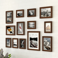 Frames for Pictures Wooden Photo Frames Picture Frame Wall Photo Set Modern Wall Photo Frames Cadre Photo Moderne 13 Pieces
