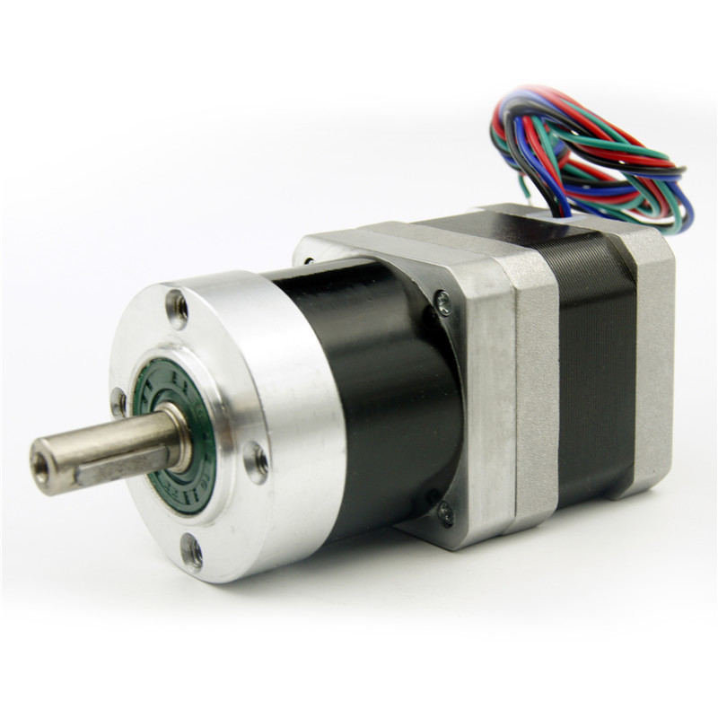 4 wire NEMA17 Planetary Geared Stepper Motor Gear Ratio 1:5 motor length 33mm 0.95A 76zy01 mig motor wire feed motor wire feeder motor dc24 1 8 18m min 1pk