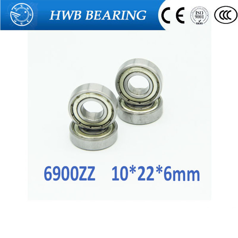 Free shipping 10PCS  6900ZZ 10*22*6 mm 61900 zz  bearings thin wall deep groove ball bearings 6900 zz Chrome Steel bearing gcr15 6326 zz or 6326 2rs 130x280x58mm high precision deep groove ball bearings abec 1 p0