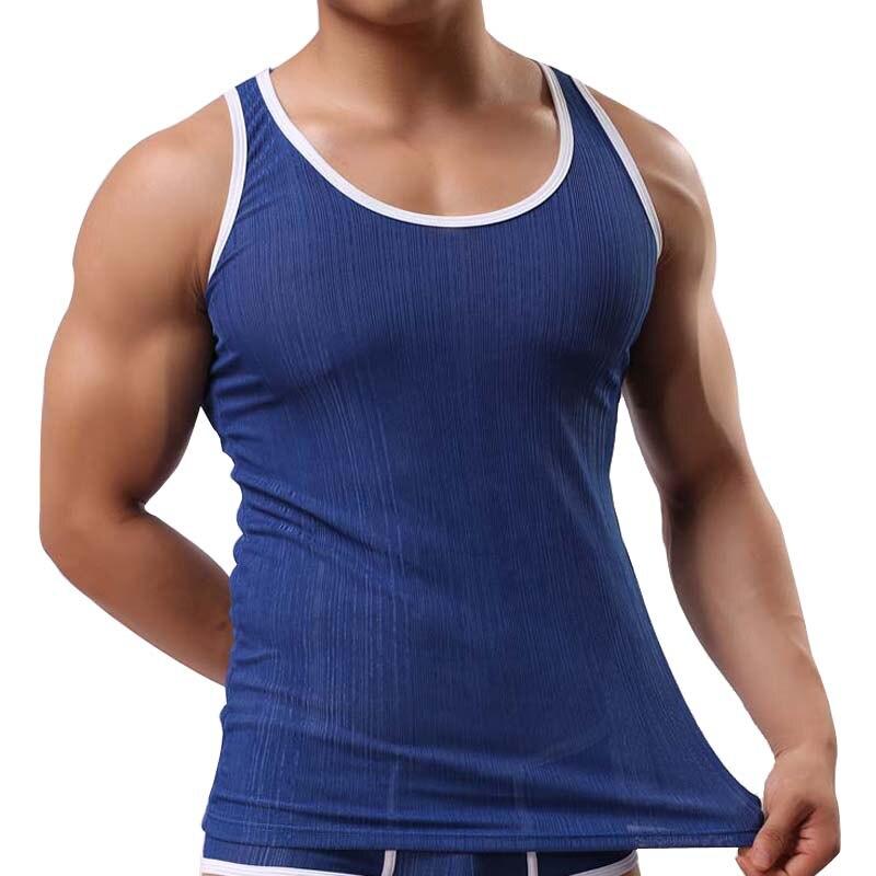 2019 Brand Summer Mens   Tank     Tops   Sleeveless Men Fitness   Tank     Top   Man Thread   Tank     Tops   Heren Tanktops Camiseta Tirantes Hombre