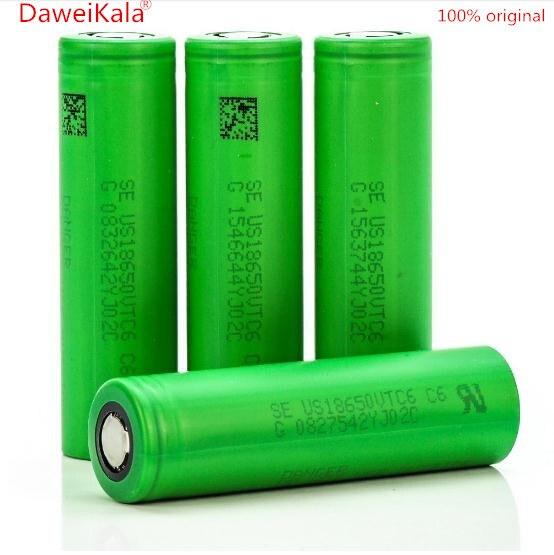 New 100% original 3.7V 3000 MAH Li ion rechargeable 18650 battery to us18650 vtc6 30A Electronic cigarette toys tools flashlight