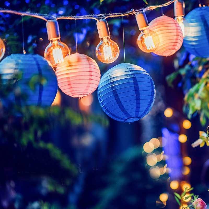 จีนใหม่ปีตกแต่งรอบโคมไฟกระดาษงานแต่งงานวันวาเลนไทน์ตกแต่งแขวน Lampion Wishing กระดาษโคมไฟ Fener