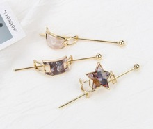 Japan and Korea Ancient Style of Women Hair Sticks Acetate Geometric Shape Accessories