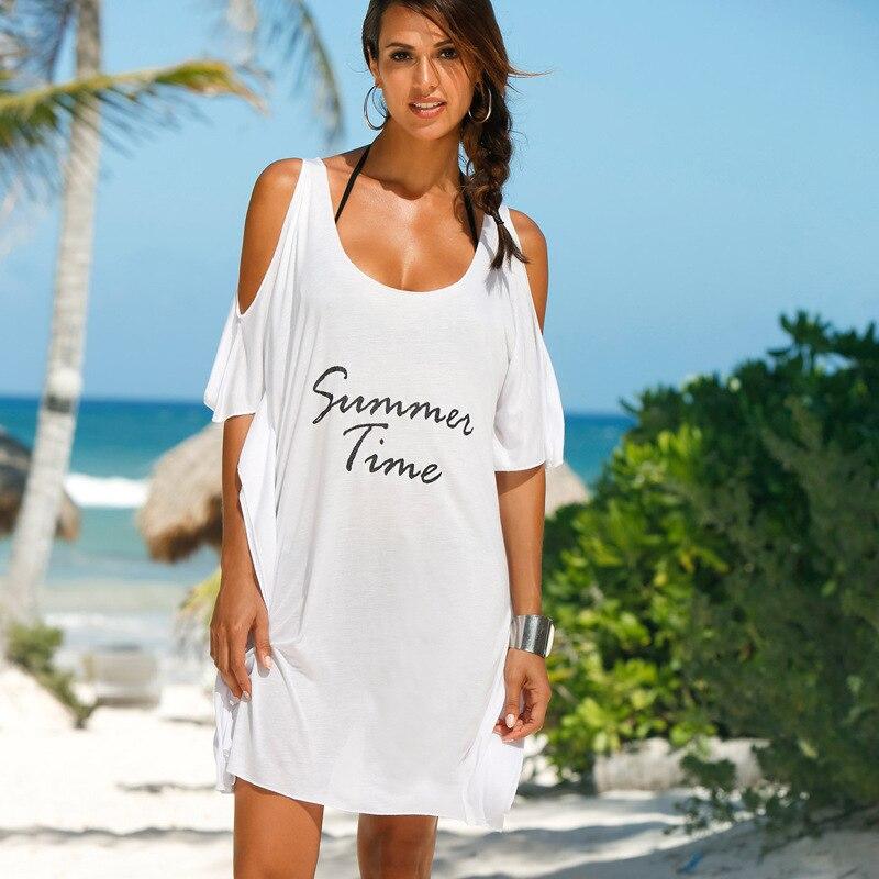 Robes d'été décontracté femmes plage Robe