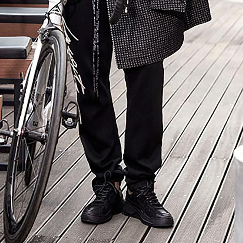 D'été Noir Peau Respirant Sneaker bleu Foncé Britannique Cuir Ressort Ciel Casual kaki Réel pu En allumette Automne blanc Hommes Loisirs Chaussures Tout De Vache Rétro Coréenne 6IgYbf7yv