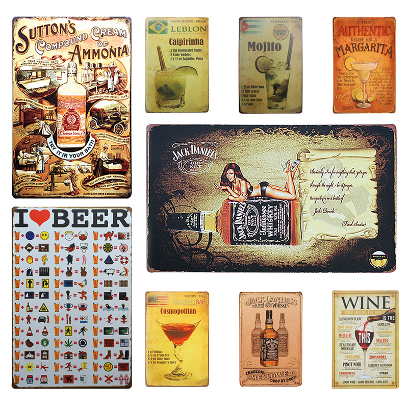 Online Buy Wholesale Vintage Wall Signs From China Vintage Wall Signs Wholesalers