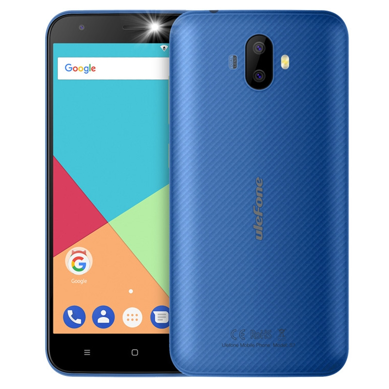 Ulefone S7 3G Mobile Phone 5 0 Inch HD MTK6580 Quad Core Android 7 0 1GB