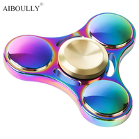 2017 New Colorful Fidget Toy Hand Spinner Rotation Time Long For Autism And ADHD Kids Adult