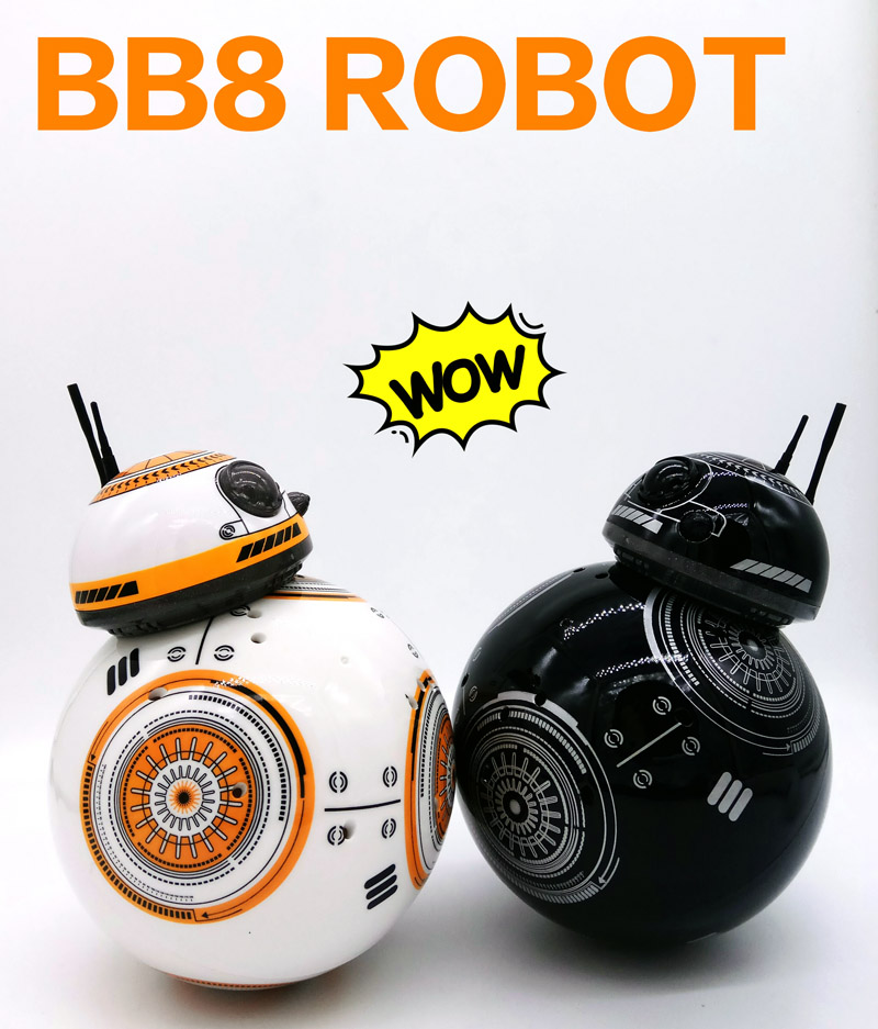 2,4 ghz 8CH upgrade version Star Wars 7 RC BB-8 BB8 fernbedienung rc roboter BB 8 intelligente Action Figur spielzeug
